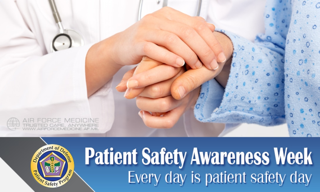 Facebook Timeline - Patient Safety Awareness Week (U.S. Air Force graphic)