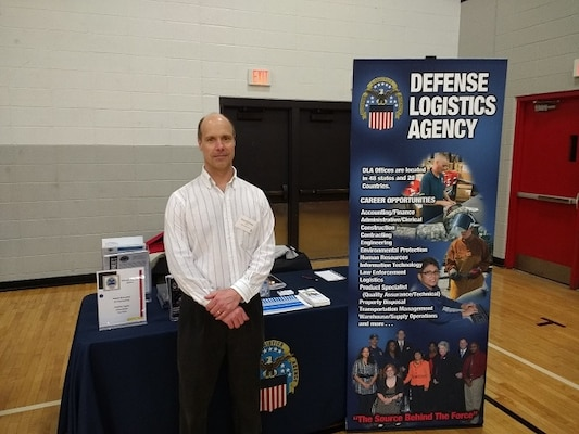 James Eschmeyer is ready to recruit potential engineers.