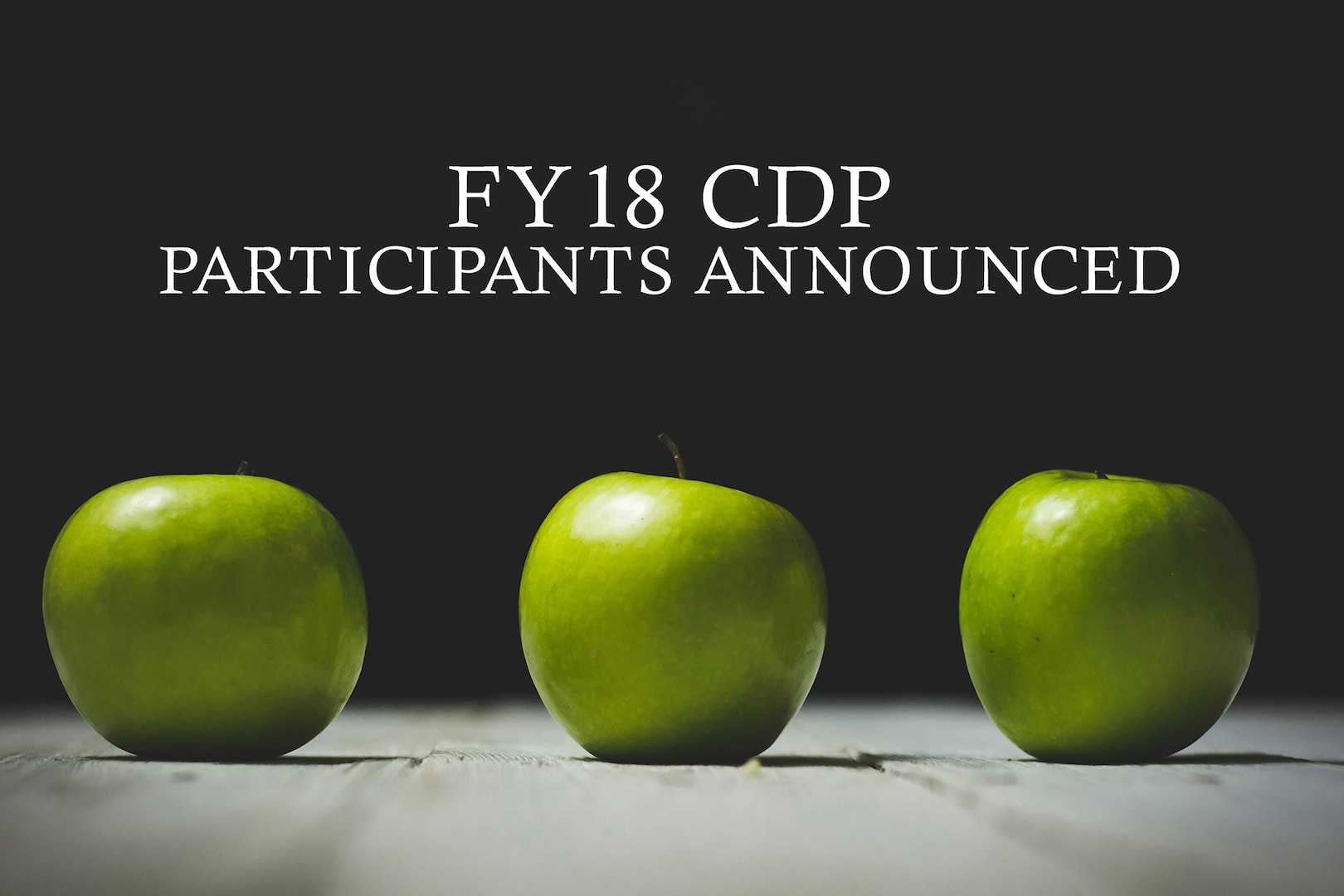 FY18 CDP participants announced