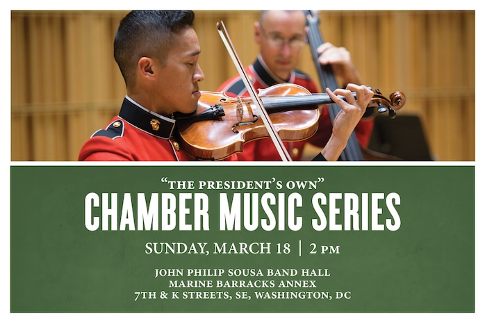 Sunday, March 18 at 2 p.m. - Chamber Music Series
