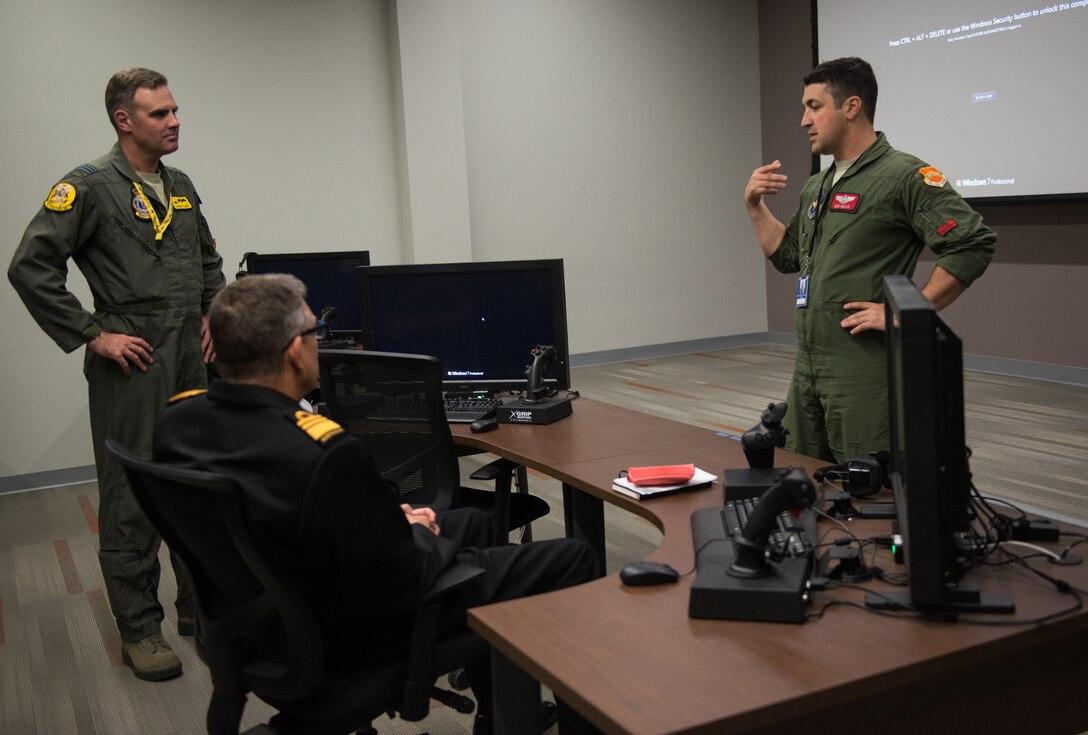 Australian Defence Force Vice Chief Visits Luke