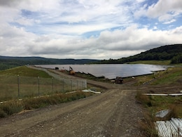 The 43-acre cap at the Elizabeth Mine  in South Stafford, Vermont has been re-utilized by a private firm for a solar array providing enough electricity for about 1,200 homes annually.
