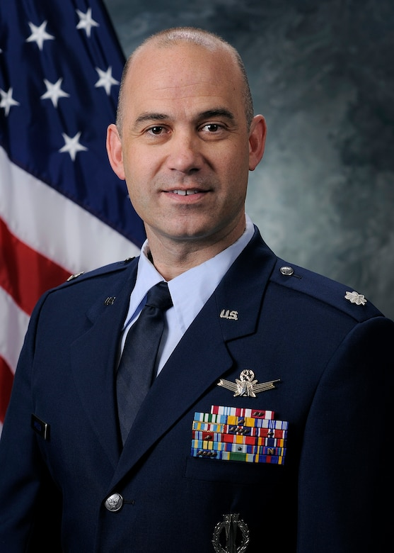 Lt.Col. Kevin AMSDEN, commander of the 3rd Space Experimentation Squadron