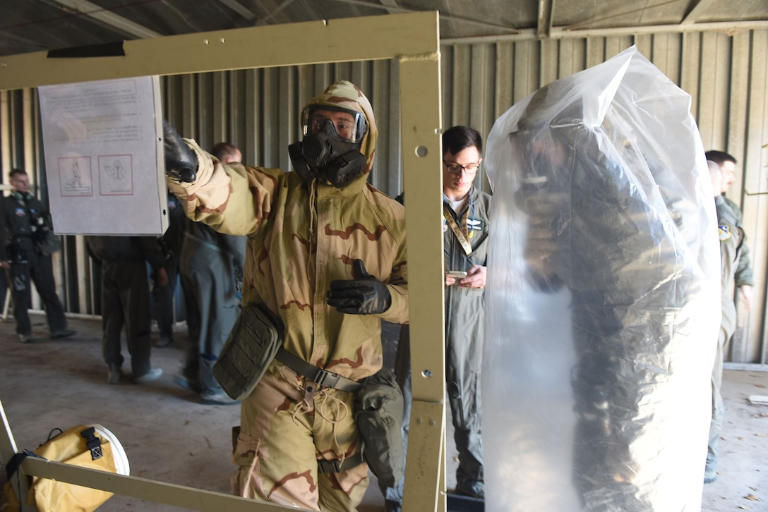 The 12th Airborne Command and Control deployment readiness exercise.