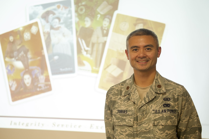 Maj. Francis J. Tobias, director of Equal Opportunity for the 940th Air Refueling Wing, poses for a photo Dec. 3 at Beale Air Force Base, California.