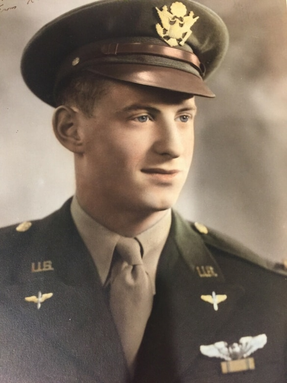 Lt. Col. Karl Garlock retired from Kingsley Field in Klamath Falls, Oregon, in 1969 after a distinguished flying career in which he survived captivity by the Germans after being shot down during combat. He was highly decorated with the Distinguished Flying Cross, the Air Medal with three devices for Heroism in Aerial Combat, two Purple Hearts, American Defense Medal and the WWII POW Medal. (Photo courtesy Peter Garlock)
