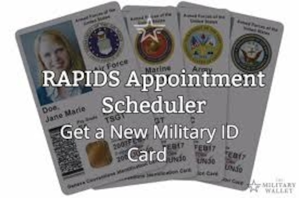 It can take from 30 to 60 days to get an appointment for a new military or dependent ID card or CAC.
