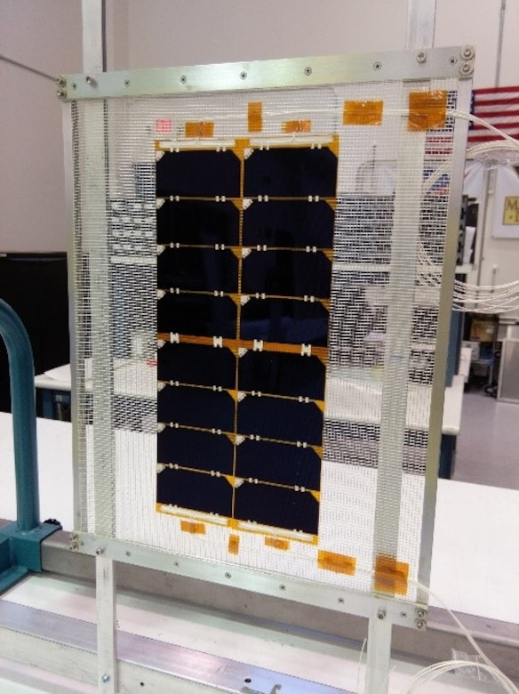 manufacturing of inverted metamorphic multi-junction solar cells for space applications