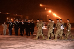 Army Sgt. 1st Class Mihail Golin honored in dignified transfer Jan. 3