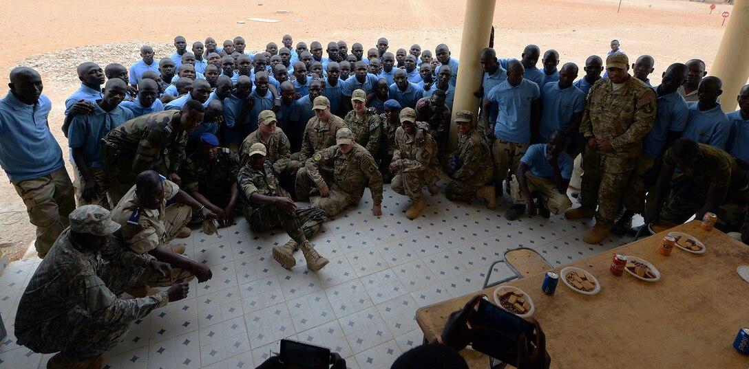 FAN graduation ceremony at Nigerien Air Base 201, Niger