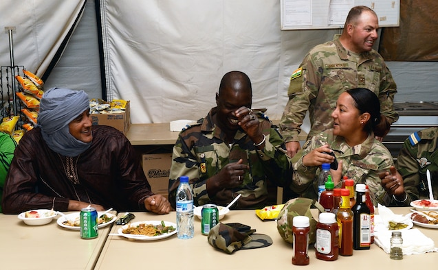 724 EABS Senior NCOs build partnership with FAN enlisted leaders