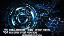 Air Force releases results of CY17A medical, dental central selection boards