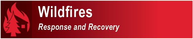 Clickable Button - Wildfires - Response - Recovery