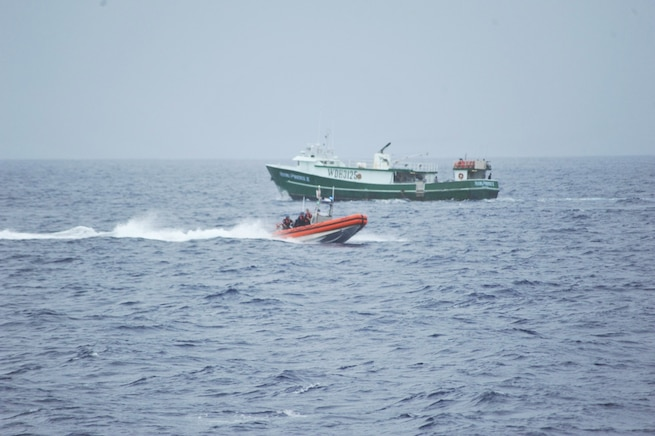 Coast Guard Cutter Oliver Berry completes at-sea fisheries enforcement patrol off Hawaii
