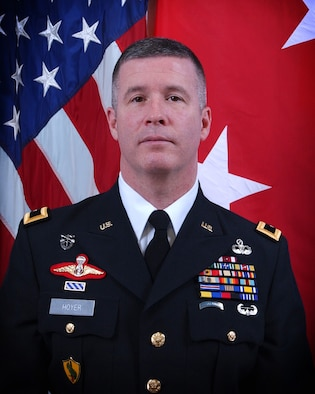 Maj. Gen. James A. Hoyer, the West Virginia Adjutant General