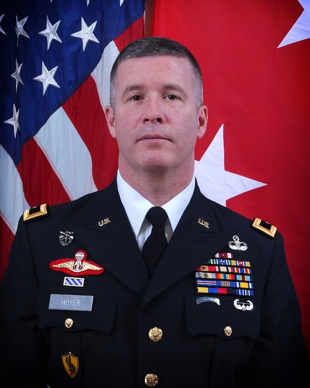 Maj. Gen. James A. Hoyer, the West Virginia Adjutant General