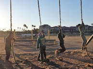 MARINE CORPS OBSTACLE COURSE