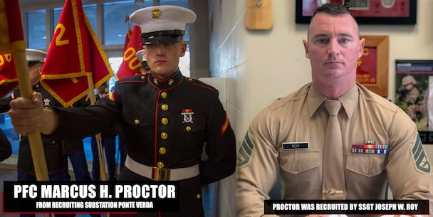 Welcome Aboard Pfc. Marcus H. Proctor!