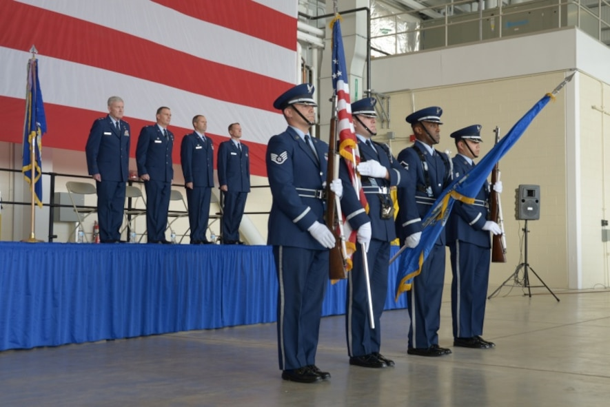 Col. Frank Detorie relinquished command and Col. Stephen R. Gwinn assumed command of the 103rd Airlift Wing Nov. 4, 2017.