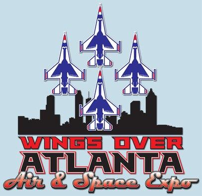 Wings Over Atlanta Air & Space Expo logo.