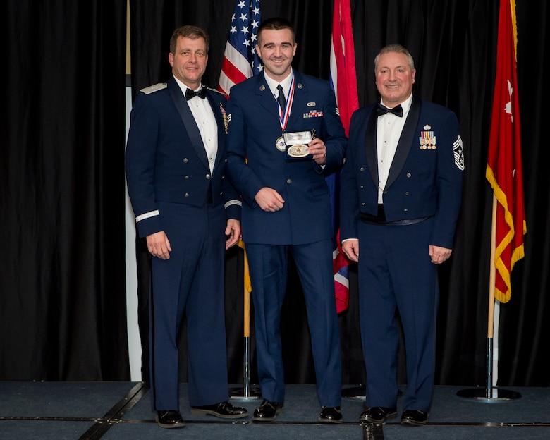 Senior Airman Mason Bicandi awarded Airman of the Year for Wyoming