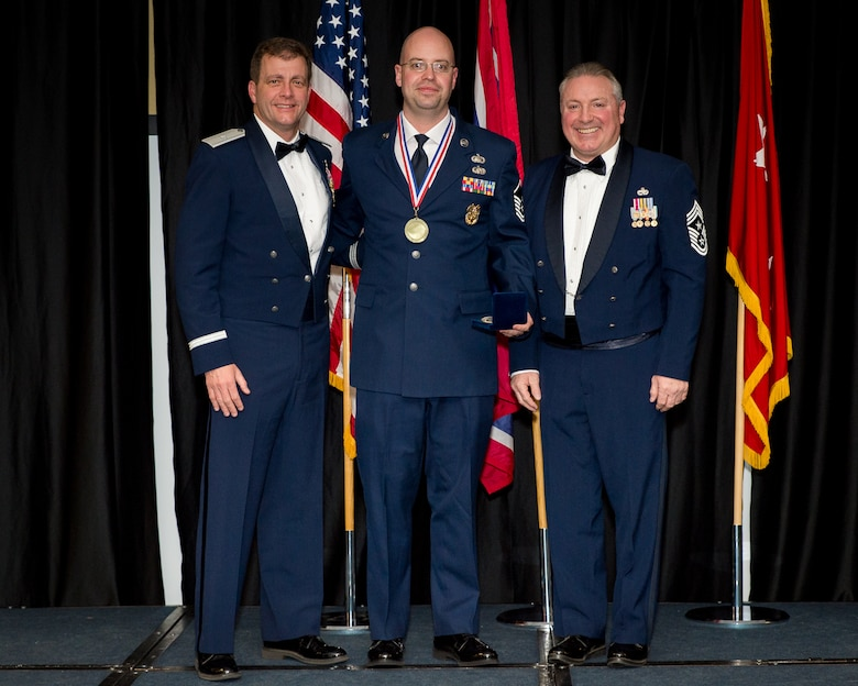 Master Sgt. Austin awarded Senior NCO of the Year for Wyoming