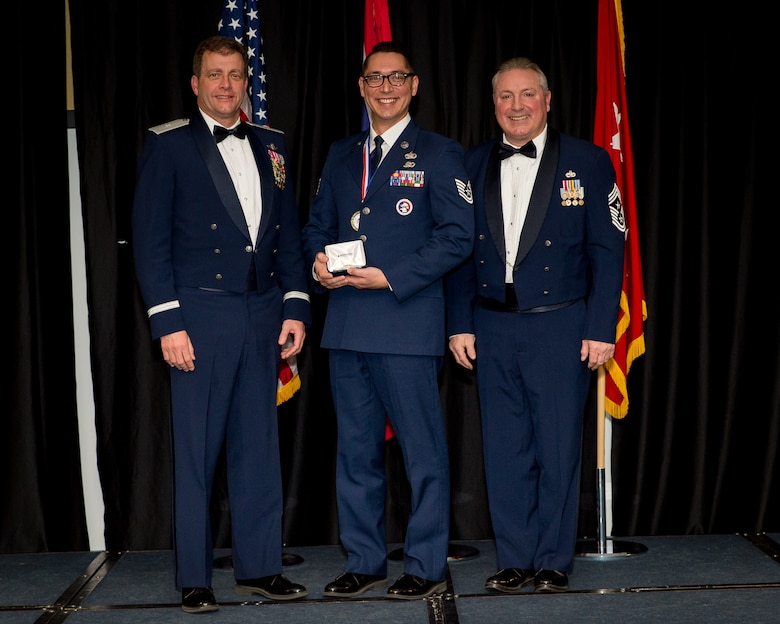 Tech. Sgt. Kevin Delgado awarded NCO of the Year for Wyoming