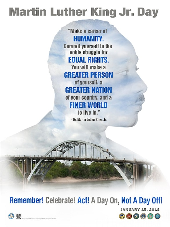 Martin Luther King Jr. Day Poster