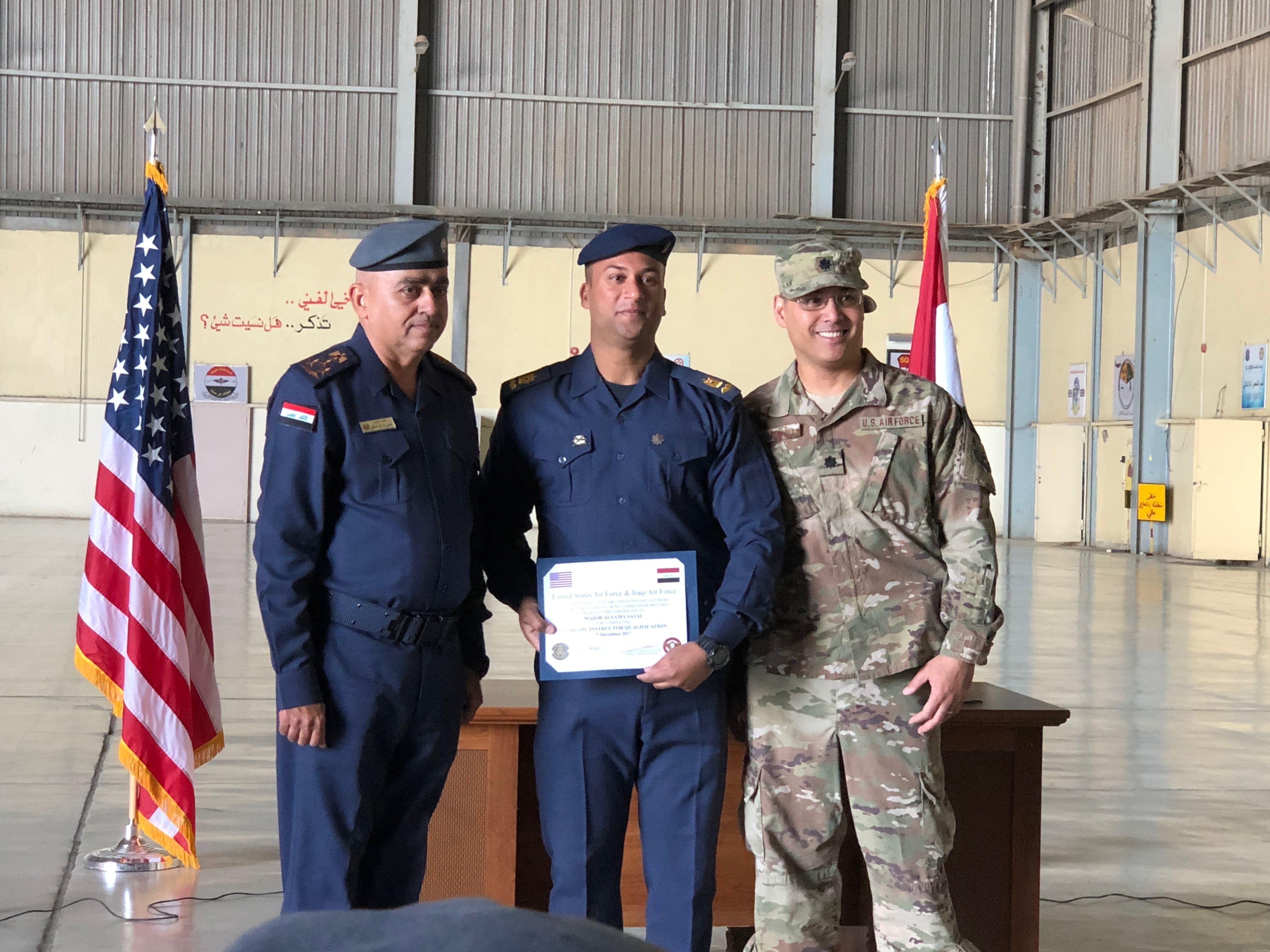 Air Force Graduation >> Iraqi Air Force Graduates First Craftsman Maintenance Technicians