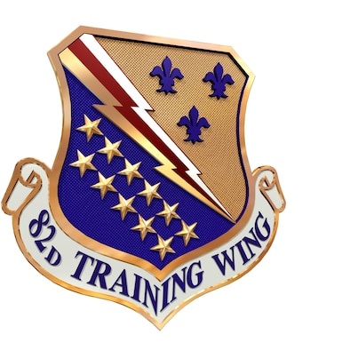 82nd Training Wing shield