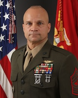 Sergeant Major Charles A. Metzger, Marine Corps Base Camp Lejeune sergeant major