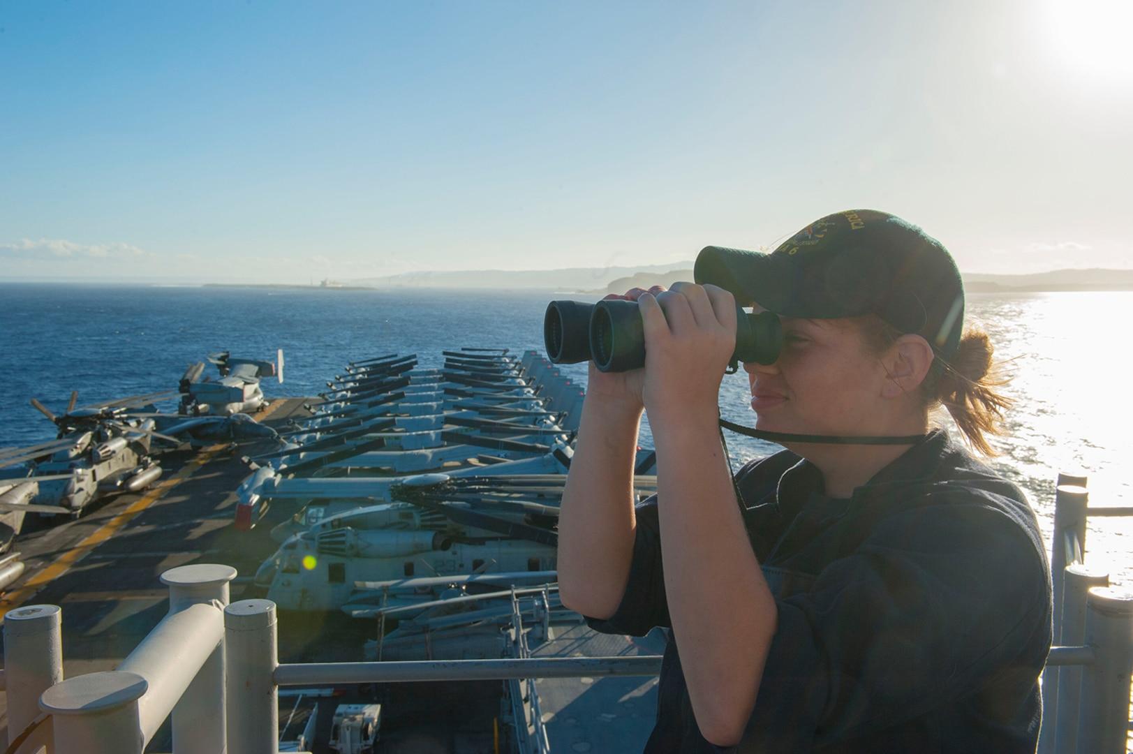 USS America, 15th MEU visit Guam on deployment