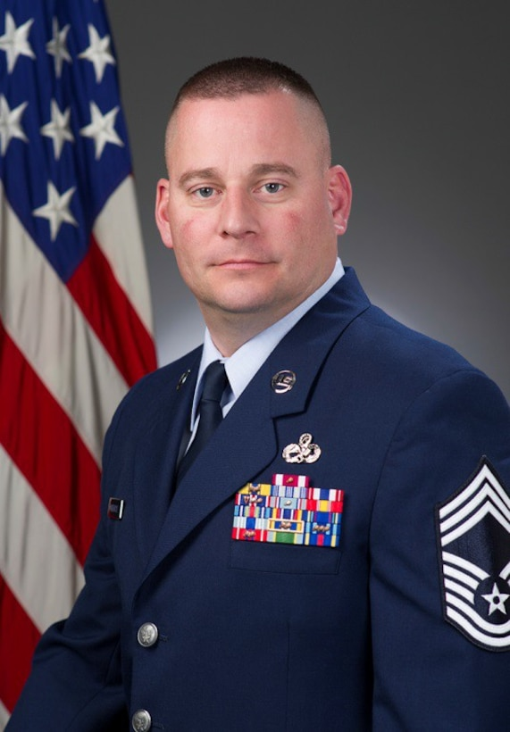 Chief Master Sgt. Jason Morehouse, Official Photo, U.S. Air Force
