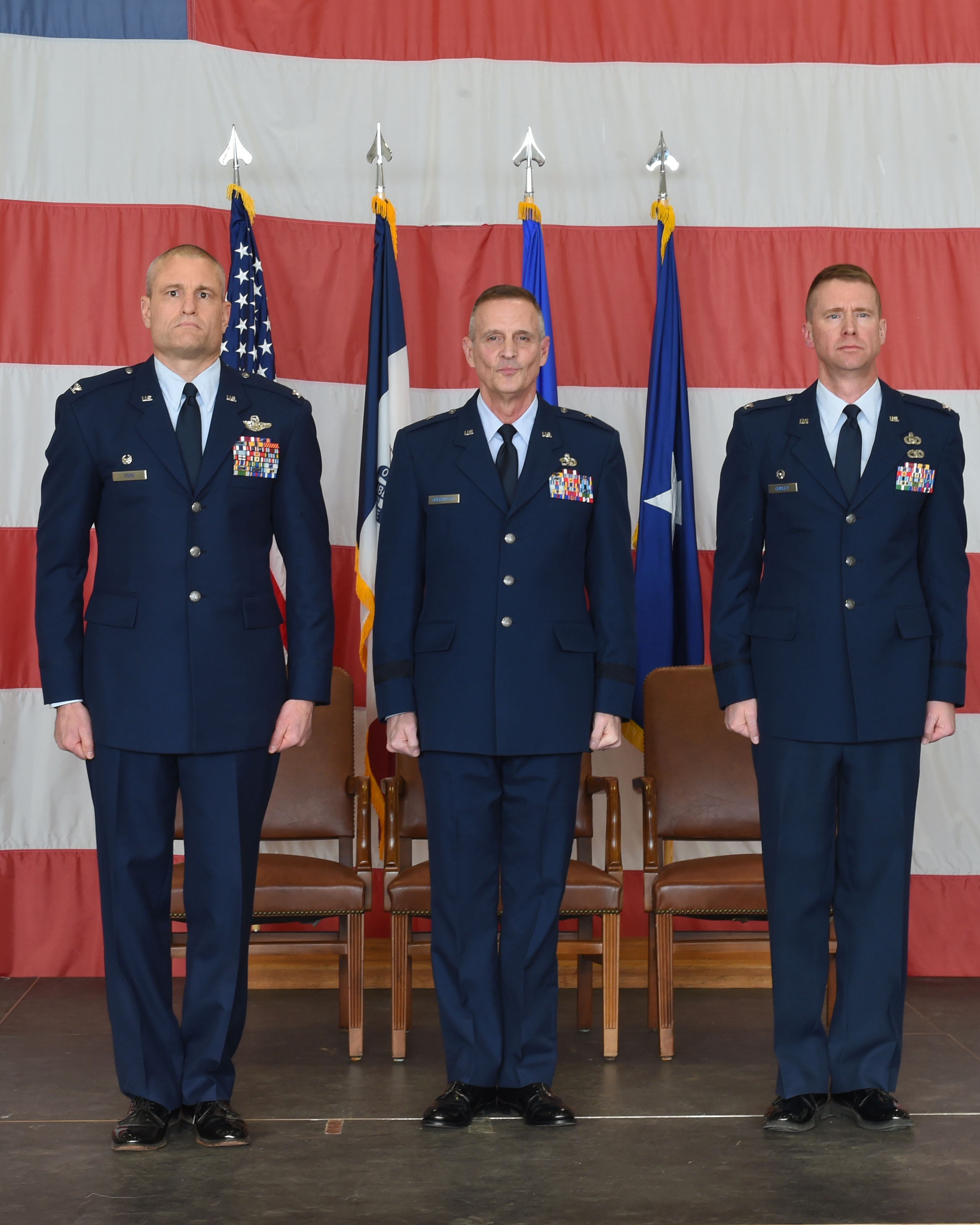 Chidley Assumes Command Of 132d Wing