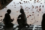 303rd Psychological Operations Company Drops Leaflets over Southern Afghanistan