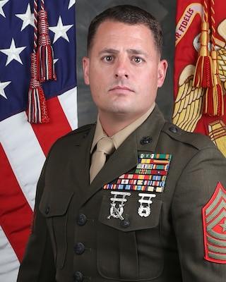 Inspector-Instructor Sergeant Major, 4th Light Armored Reconnaissance Battlion