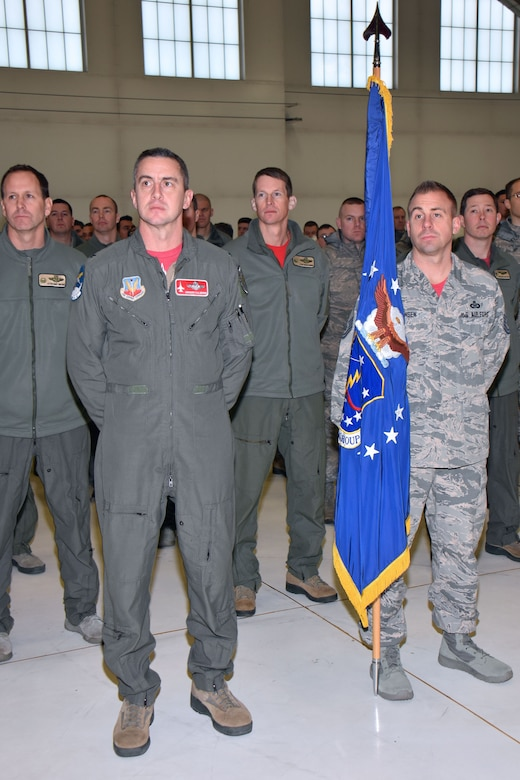 Wisconsin National Guard Airmen assigned to the 115th Fighter Wing attend the unit's annual awards ceremony at Truax Field in Madison, Wisconsin, Jan. 6, 2017. The ceremony highlighted Airman from throughout the unit who displayed exemplary skill and leadership in the performance of their duties both at home, and in deployed locations around the world. (U.S. Air National Guard photo by Master Sgt. Paul Gorman)