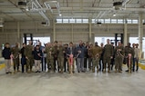 Air transportation division conducts ribbon cutting for air freight facility