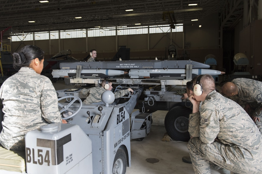 363rd TRS armament course