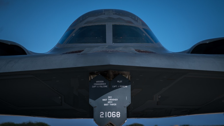 B-2 Spirits support Bomber Assurance, Deterrence mission