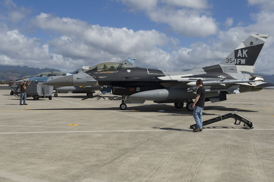 Jan. 10, 2018 marked the beginning of Sentry Aloha 18-1, a large-scale fighter exercise hosted by the Hawaii Air National Guard.   Sentry Aloha exercises are held to provide the Air National Guard, U.S. Air Force and other Department of Defense agencies an opportunity to execute current, realistic, integrated training specifically designed to develop combat operations and skill sets.
