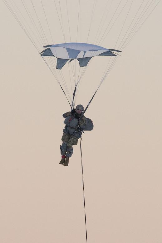 Spartan paratroopers go airborne over JBER