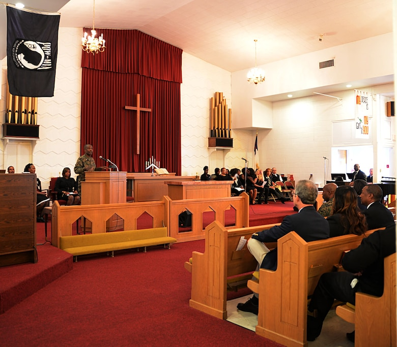 Ceremony pays tribute to Dr. Martin Luther King Jr.