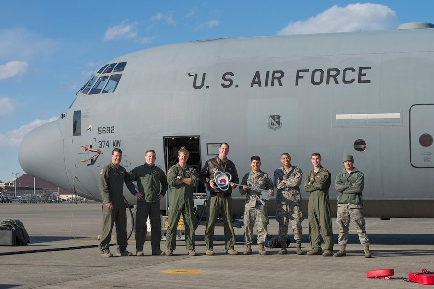 Yokota receives 10th C-130J from Dyess AFB