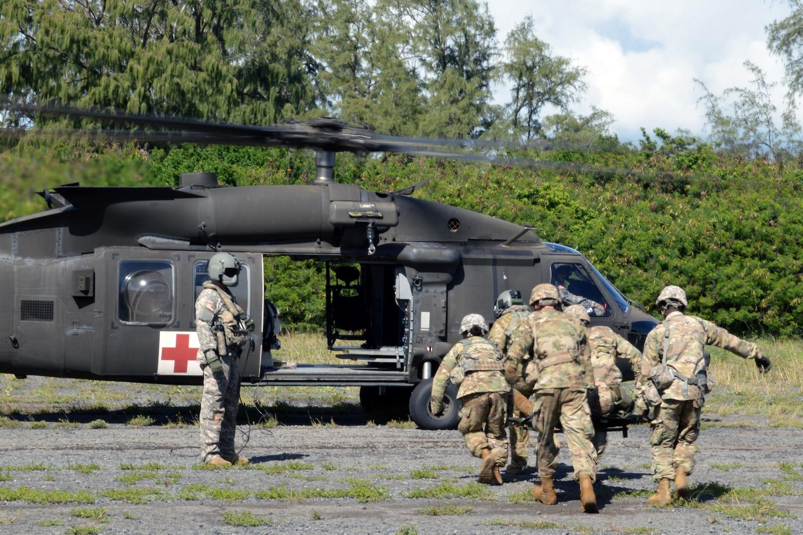 Training on Black Hawk