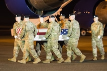 Army Spc. Javion S. Sullivan honored in dignified transfer Jan. 11