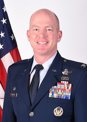 Col. Troy L. Endicott takes command of the 460th Space Wing