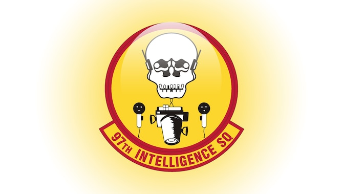 Digital patch of the 97th Intelligence Squadron.