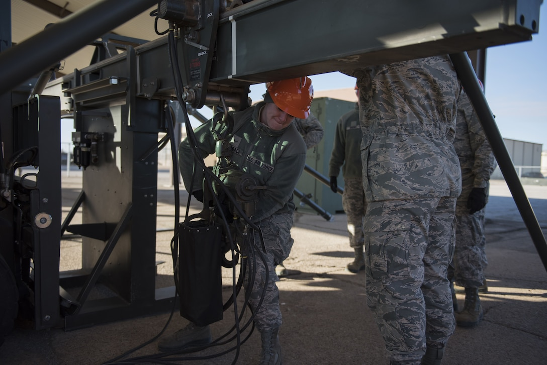 363rd TRS munitions course