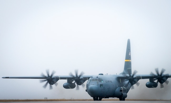 Upgraded C-130H begins testing